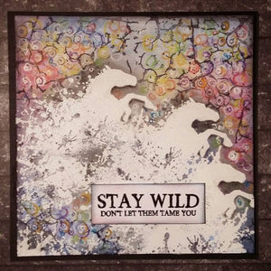 Visible Image - Stay Wild - Clear Polymer Stamp Set