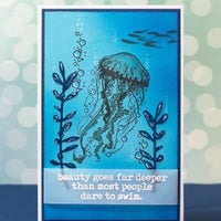 Visible Image - Dare to Swim - Clear Polymer Stamp Set