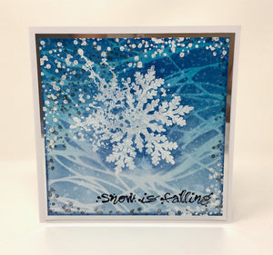 Visible Image - Snow is Falling - Clear Polymer Stamp Set