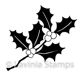 Lavinia - Mini Holly - Clear Polymer Stamp
