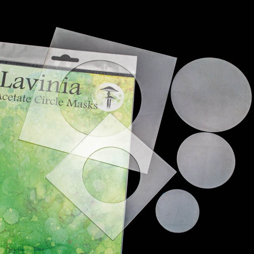 Lavinia - Acetate Circle Masks - Stencil