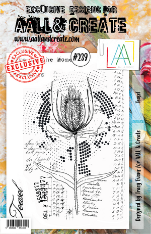 AALL & Create - Clear Stamp Set - A5 - #239 - Teasel