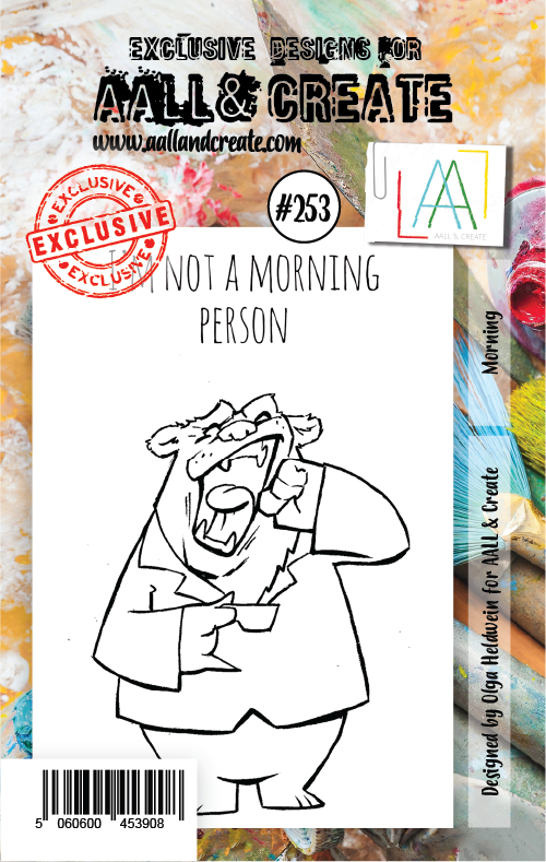 AALL & Create - Clear Stamp Set - #253 - A7 - Morning