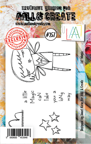 AALL & Create - Clear Stamp Set - #257 - A7 - Lil' Magic