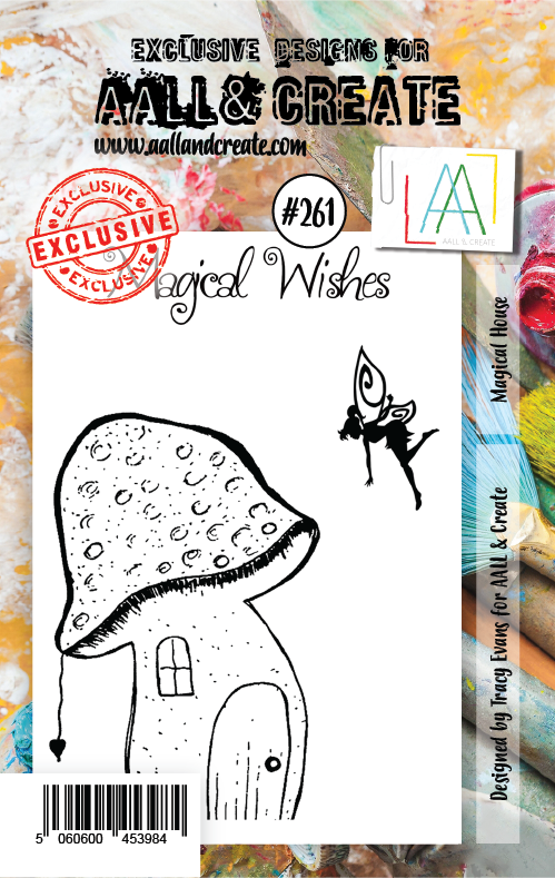 AALL & Create - Clear Stamp Set - #261 - A7 - Magical House