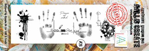 AALL & Create - Clear Border Stamp - #28 - Hands