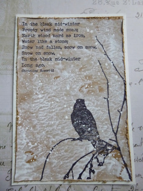 PaperArtsy - Alison Bomber 05 - Rubber Cling Mounted Stamp Set