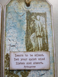 PaperArtsy - Alison Bomber 03 - Rubber Cling Mounted Stamp Set