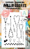 AALL & Create - Clear Stamp Set - #46 - Hearts