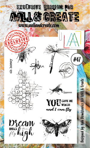 AALL & Create - Clear Stamp Set - #47 - Bees
