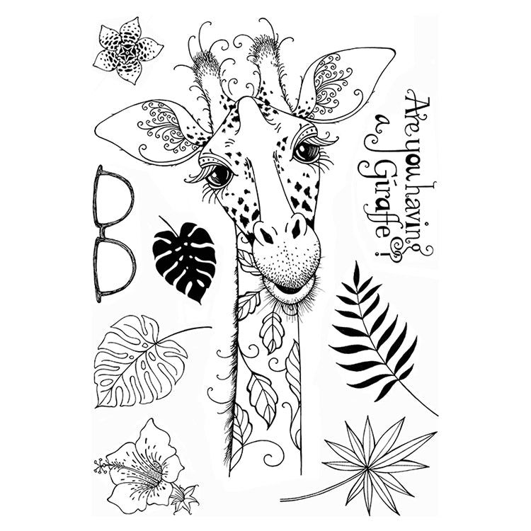 Pink Ink Designs - Clear Photopolymer Stamps - Giraffe