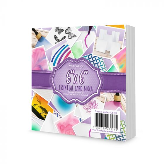 Hunkydory -  Ink Me - 6x6 Essential Card Block