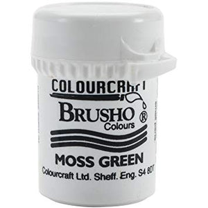Colourcraft - Brusho Crystal Color - Moss Green