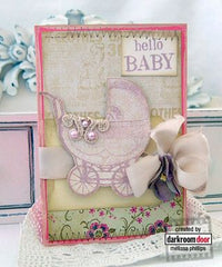 Darkroom Door - Hello Baby Vol. 1 - Red Rubber Cling Stamps