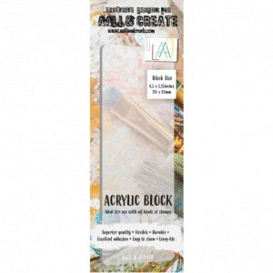 AALL & Create - Acrylic Block - Border