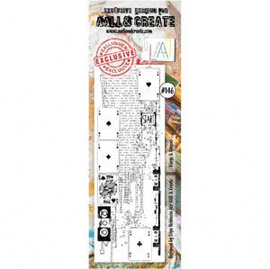 AALL & Create - Clear Border Stamp Set - #146 - Kings & Queens