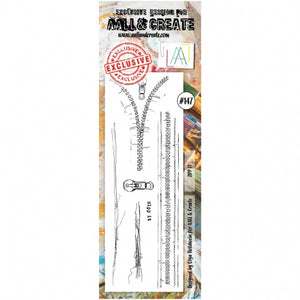 AALL & Create - Clear Border Stamp - #147 - Zipp It