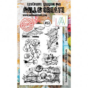 AALL & Create - Clear Stamp Set - #153 - Botanicals