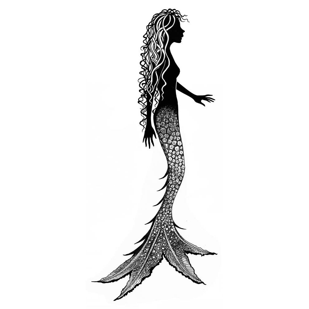 Lavinia - Alana Mermaid - Clear Polymer Stamp