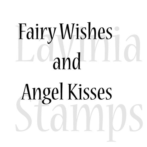 Lavinia - Fairy Wishes and Angel Kisses - Clear Polymer Stamp