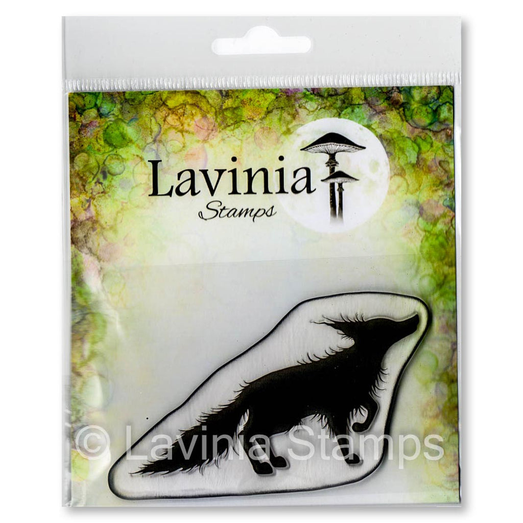 Lavinia - Bandit Fox - Clear Polymer Stamp