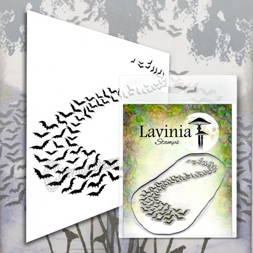 Lavinia - Bat Colony - Clear Polymer Stamp