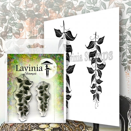 Lavinia - Berry Leaves - Clear Polymer Stamp