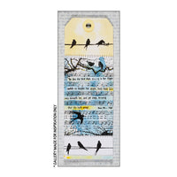 Crafty Individuals - Unmounted Rubber Stamp - 287 - Birds on a Wire