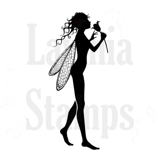 Lavinia - Bria Rose Fairy - Clear Polymer Stamp