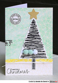 Darkroom Door - Rubber Stamp Set - Stitched Christmas