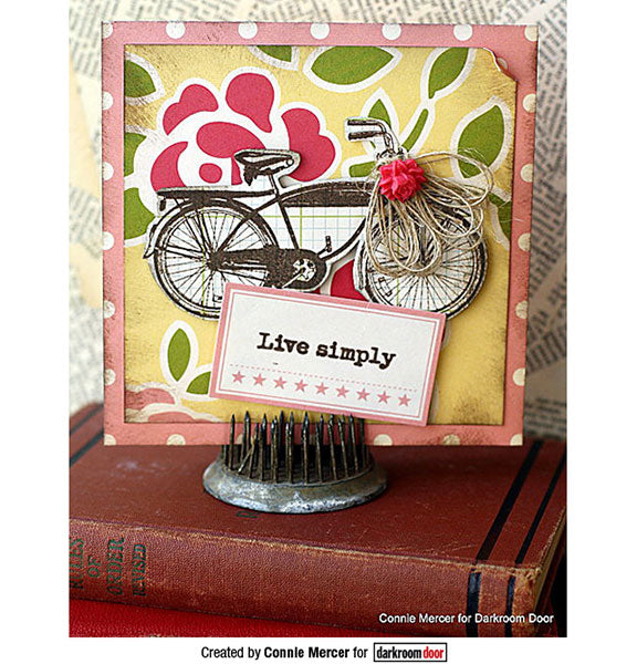 Darkroom Door - Rubber Stamp Set - Enjoy the Ride