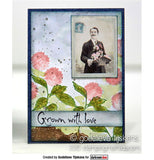 Darkroom Door - Gardening Vol 1 - Red Rubber Cling Stamps