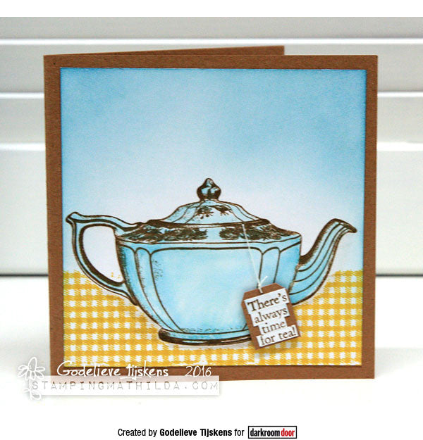 Darkroom Door - Rubber Stamp Set - Cup of Tea