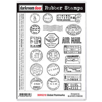 Darkroom Door - Rubber Stamp Set - Global Postmarks
