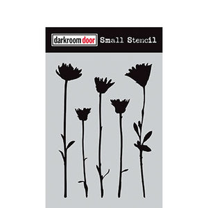 Darkroom Door - Wildflowers - Stencil