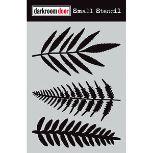 Darkroom Door - Ferns - Stencil