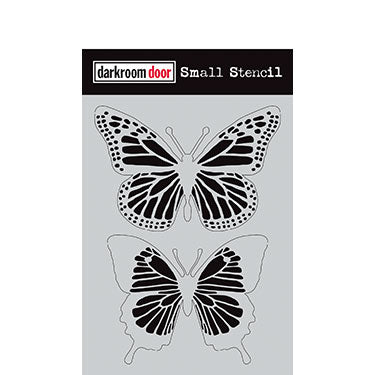Darkroom Door - Butterflies - Stencil