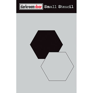 Darkroom Door - Hexagon Set - Stencil