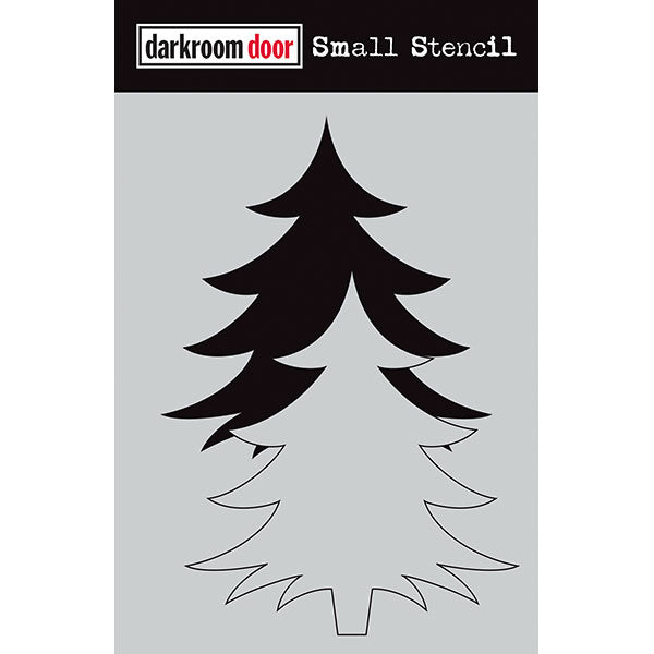 Darkroom Door - Christmas Tree Set - Stencil