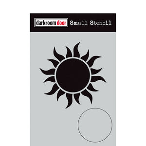 Darkroom Door - Sun - Stencil