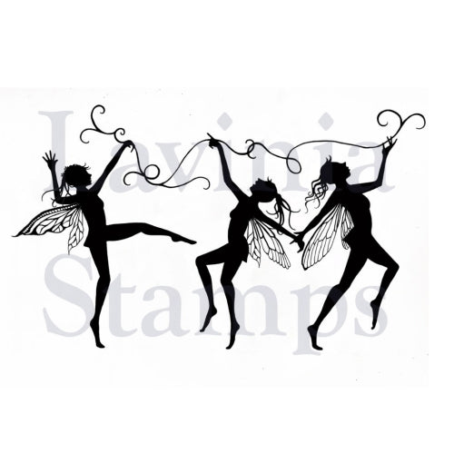 Lavinia - Dancing Till Dawn - Clear Polymer Stamp
