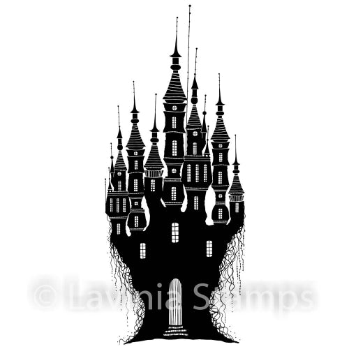 Lavinia - Dragon Stone Castle - Clear Polymer Stamp