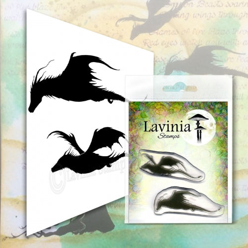 Lavinia - Dragon Set - Clear Polymer Stamp