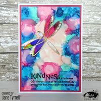 Visible Image - Summer Wings - Clear Polymer Stamp Set