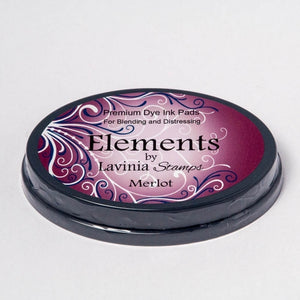 Lavinia - Elements Premium Dye Ink Pad - Merlot
