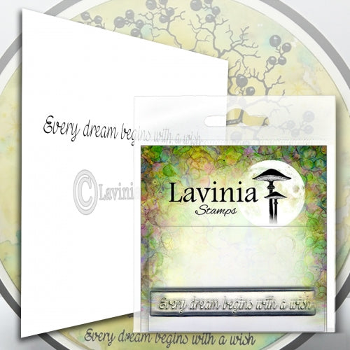 Lavinia - Every Dream - Clear Polymer Stamp