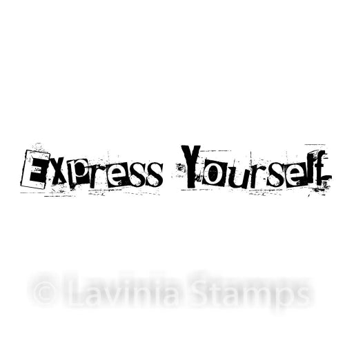 Lavinia - Express Yourself - Clear Polymer Stamp