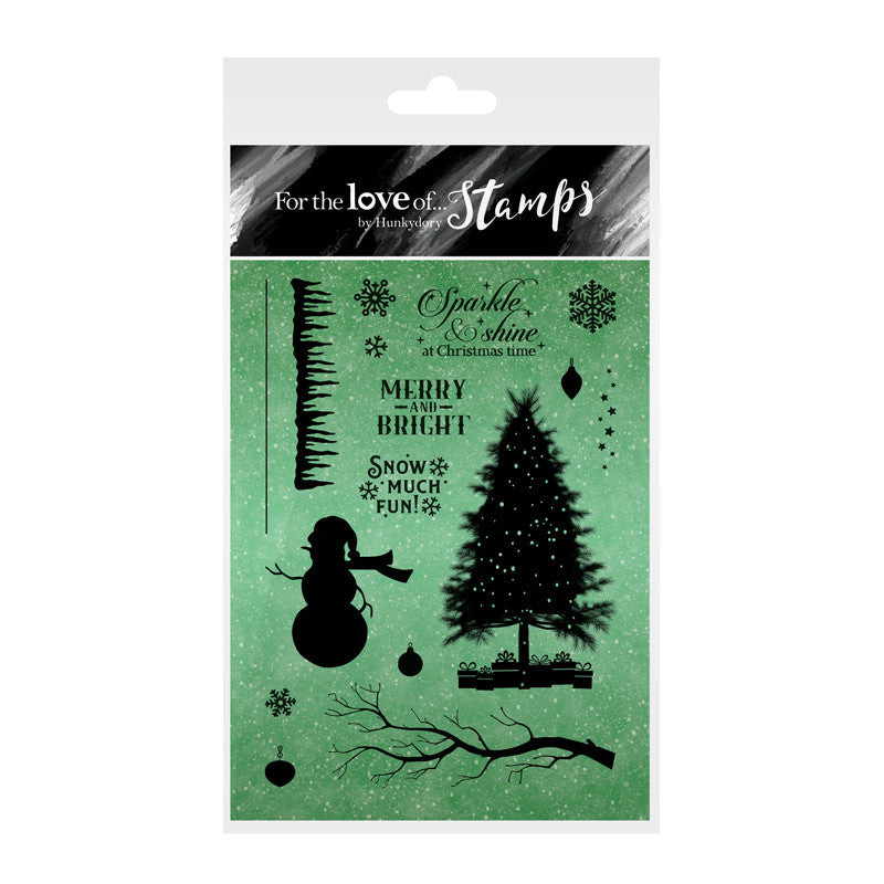 For the Love of Stamps - Clear Stamp Set - Snow Much Fun