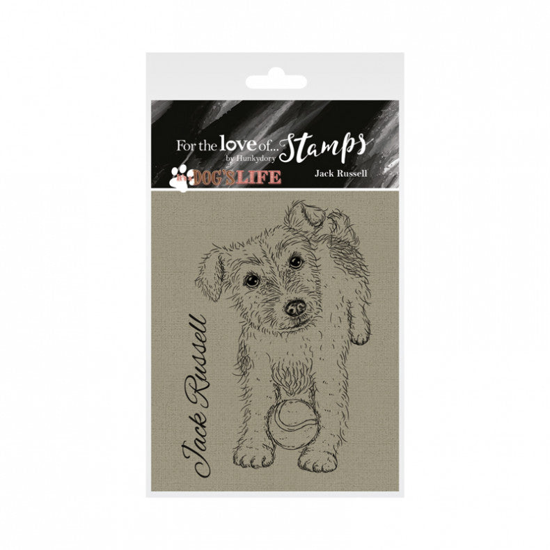 For the Love of Stamps - Jack Russell Terrier - Dog