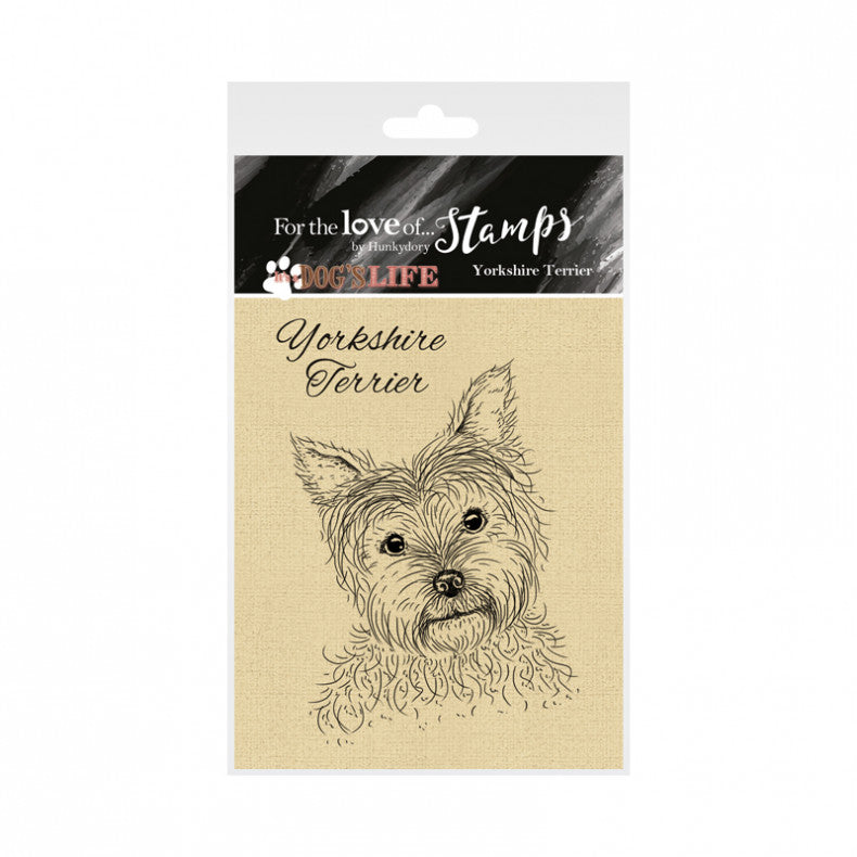 For the Love of Stamps - Yorkshire Terrier - Yorkie - Dog